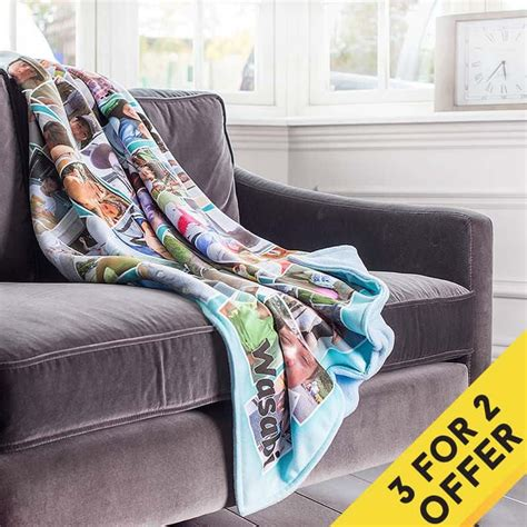 Design Photo Blanket | photo blankets uk create a personalised blanket with