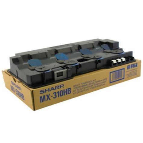 Box Sharp mx 310hb waste toner box sharp genuine oem