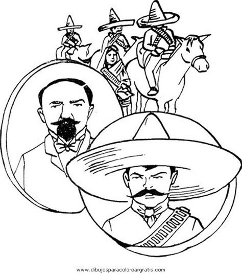 imagenes sobre la revolucion mexicana para niños dibujos revolucion mexicana 3