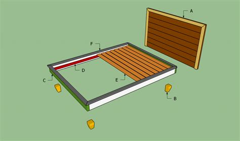 how to build platform bed frame how to build a platform bed frame howtospecialist how