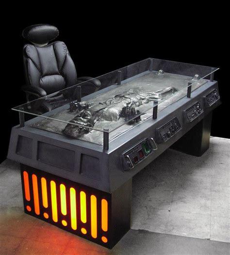 tom spina designs han in carbonite desk