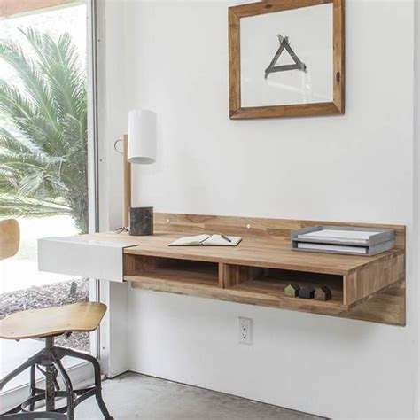 Lax Series Wall Mounted Desk by Save Space In The Bedroom With Wall Mounted Desk