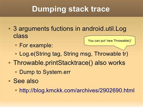 logging system of android
