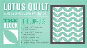 how to make a quilt template new friday tutorial the orange peel lotus quilt