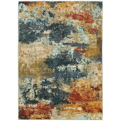 Shop Oriental Weavers Of America Brisbane Multicolor Rugs Brisbane