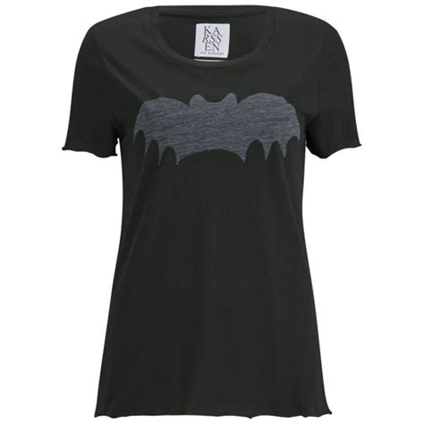 T Shirt Bat Black zoe karssen s bat t shirt black womens clothing
