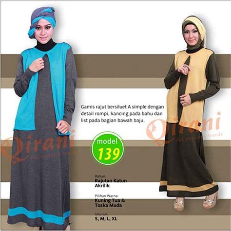 Gamis Katun Gamis Fairuza Jeehana Dress Muslim Simple qirani dewasa model 139 softaya pusat baju
