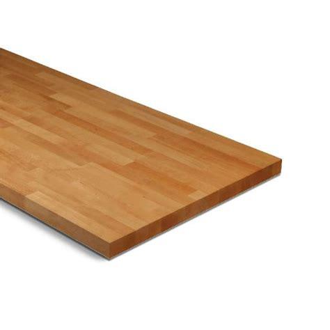 mm solid wood beech square edge worktop lmm