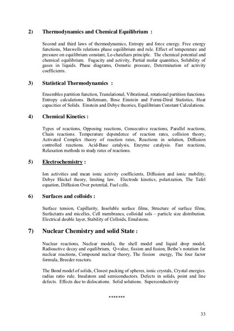 Syllabi for ph.d. entrance test