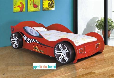 cars beds car beds for kids kids storm plastic racing car bed