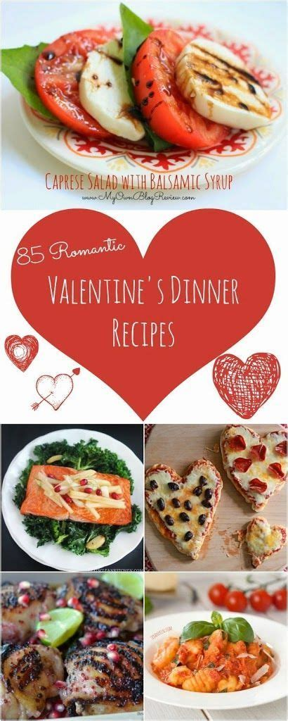valentines home cooked meal ideas 85 recipes for a s day dinner at home