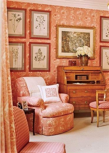 ways  decorate  toile architectural digest