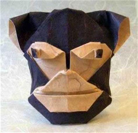 Robin Glynn Origami - monkey robin glynn gilad s origami page