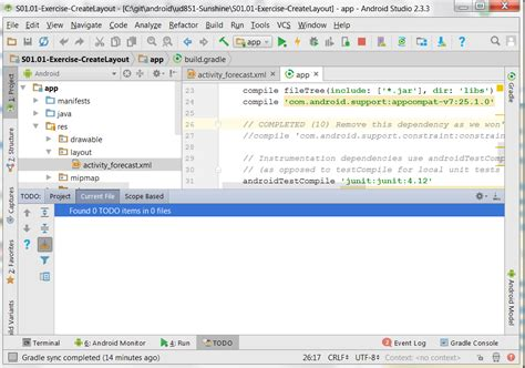 android studio refresh layout android studio todo list does not refresh stack overflow