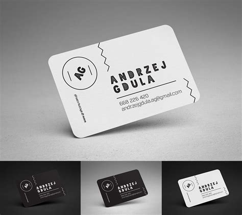 Flat Rounded Business Card Template Psd by Rounded Business Cards Mockup Mockup Business Cards And