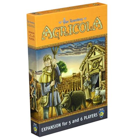 Asmodee Agricola by Agricola 5 6 Player Expansion Asmodee Bonus Points