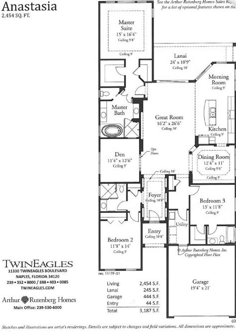arthur rutenberg floor plans arthur rutenberg homes preferred builders in twin eagles