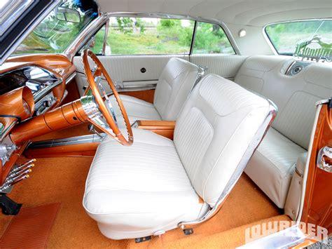 upholstery custom 1964 chevrolet impala ss lowrider magazine