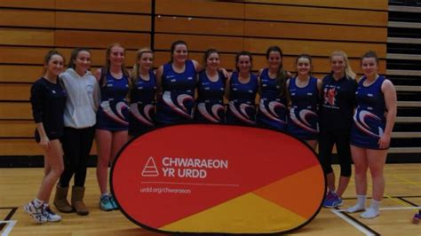 student part of pulitzer team american university national success for netball students gower college swansea