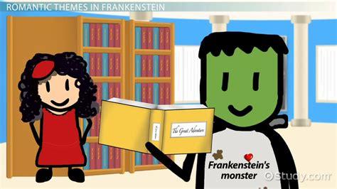 themes in frankenstein revenge romanticism in frankenstein video lesson transcript