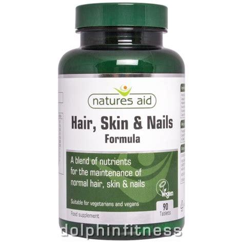 Diskon Wellness Skin Hair Nails Formula 30 Tablets natures aid hair skin and nails formula 90 tablets