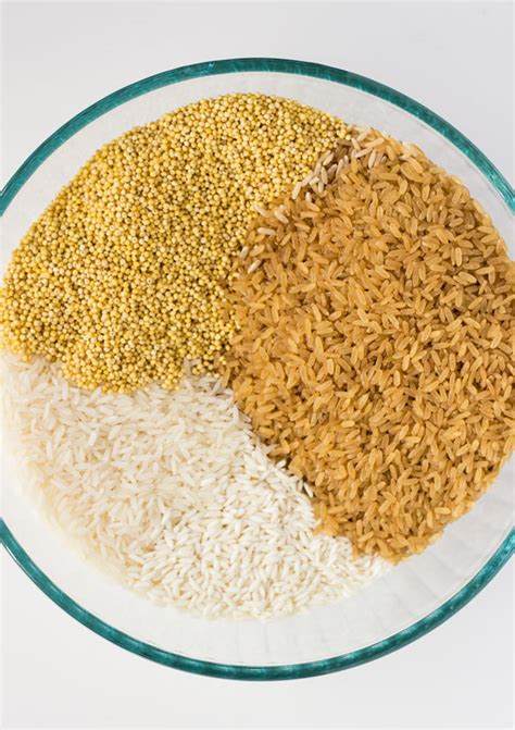 whole grains to replace rice diy all purpose gluten free flour from grains light