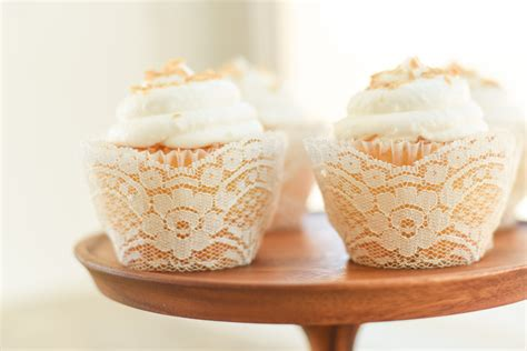 cupcake liners for bridal shower real ivory lace cupcake wrappers liners wedding rustic