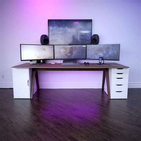 desk gaming setup best 25 gaming setup ideas on computer setup