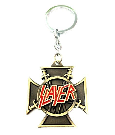 design keychains online designer keychains slayer band metal key chain buy online