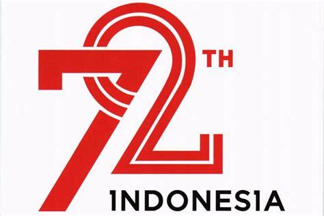 logo peringatan hut ke 69 kemerdekaan republik indonesia tahun usung indonesia kerja bersama ini logo hut ke 72 ri