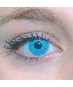 foureyez cosmetic fashion lenses blue contact lense