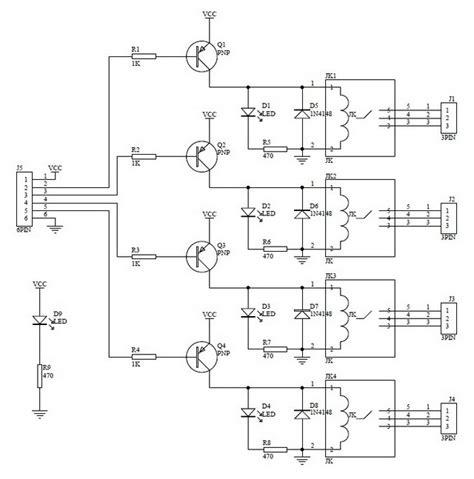 4 relay module wiring diagram 29 wiring diagram images