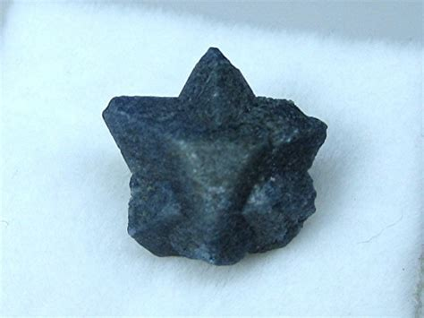 Twinned Benitoite Crystals Aka Star Of David Capistrano