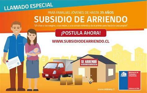 subsidio de arriendo postulaciones comienzan este 1 de hoy comienzan las postulaciones para el subsidio de