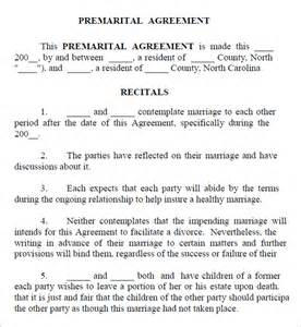 Prenuptial Agreements Templates by Free Prenuptial Agreement Free Template Uk
