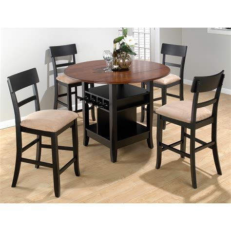 small indoor bistro table and chairs jofran counter height 3 piece small double drop leaf table