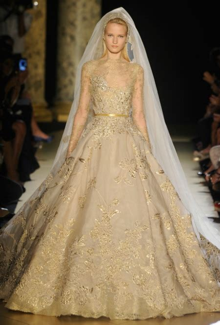 6 Over the Top Fantasy Wedding Dresses from the Couture