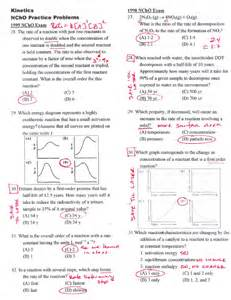 chapter 14 chemistry