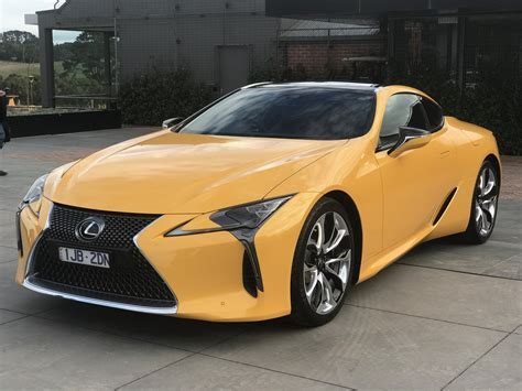 lexus lc500 2017 lexus lc500 lc500h pricing and specs luxury sports