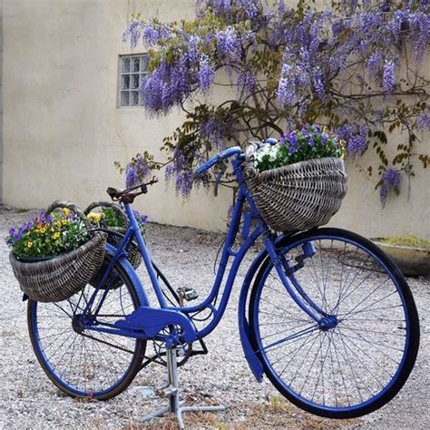 bicycle decorations home 17 super ideas for garden decorations made from old