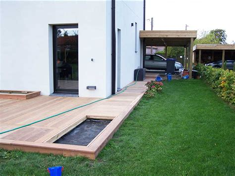 terrasse a cr 233 ation terrasse bois 224 lille en ip 233 59 wood