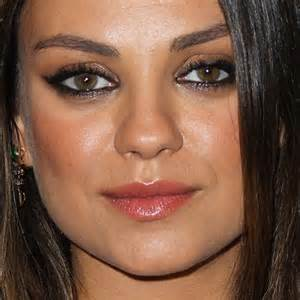 Mila kunis makeup photos amp products steal her style