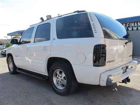 purchase used 5 3l chevy tahoe leather 3rd row seat v8 4x4