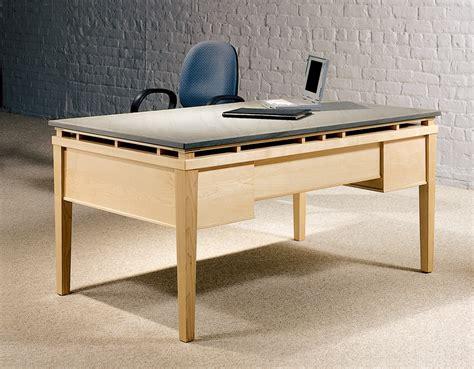 Contemporary Stone Top Desks   Executive Granite Desks   Stoneline Designs