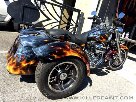 Custom Paint Harley Davidson Motorcycles by Harley Davidson Killer Paint Airbrush Studio