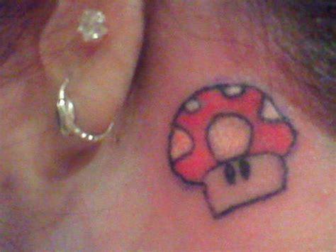 mario mushroom tattoo 15 groovy tattoos me now