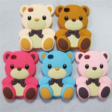 Softcase Teddy Brown 3d Line Soft Cover Casing Samsung Galaxy J7 2016 3d teddy silicone soft cover skin for iphone 4g 4s ebay