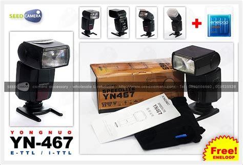 Yongnuo Yn 467 Ii For Canon yongnuo yn467 e ttl canon eneloop aa 4 flash