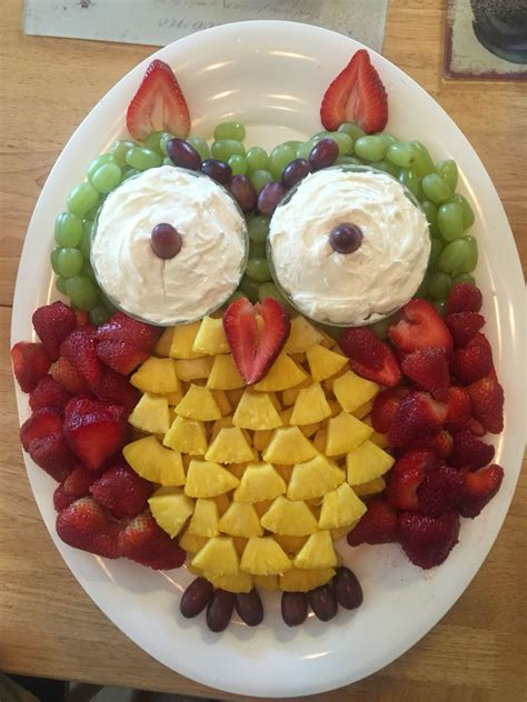 fruit tray ideas i couldn t find a fruit tray for an owl without the