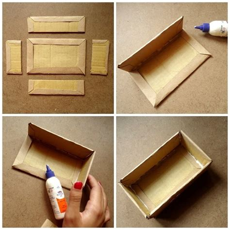 How To Make A Box Made Out Of Paper - make a vintage cardboard box 183 how to make a box 183 on